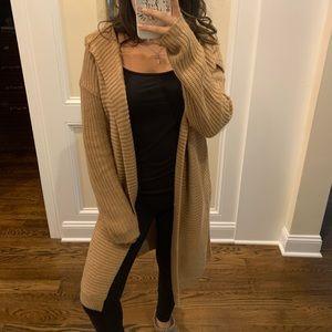 Warm Oversized Tan Sweater